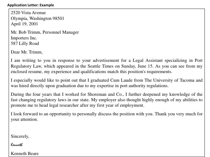 unsolicited cover letter templates
