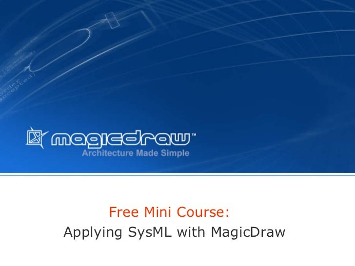 Applying sys ml_with_magicdraw
