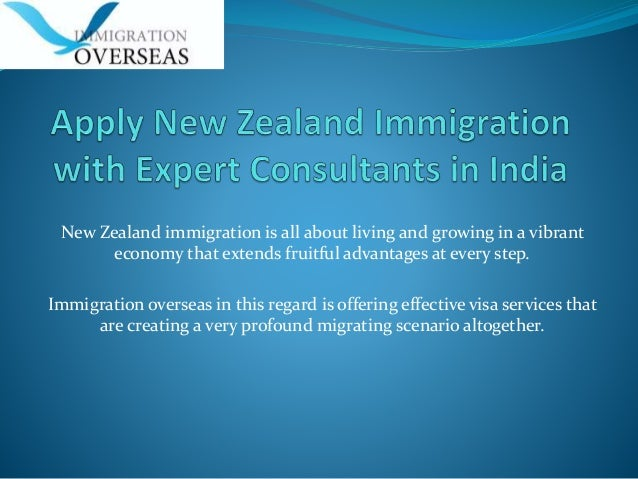 Apply New Zealand Immigration with Expert Consultants in India