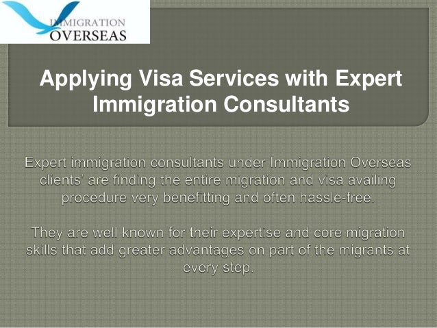 Apply visa services with expert immigration consultants
