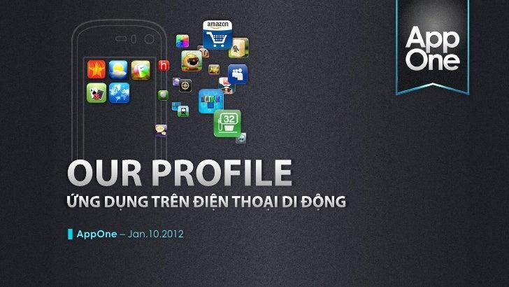 App one   profiles