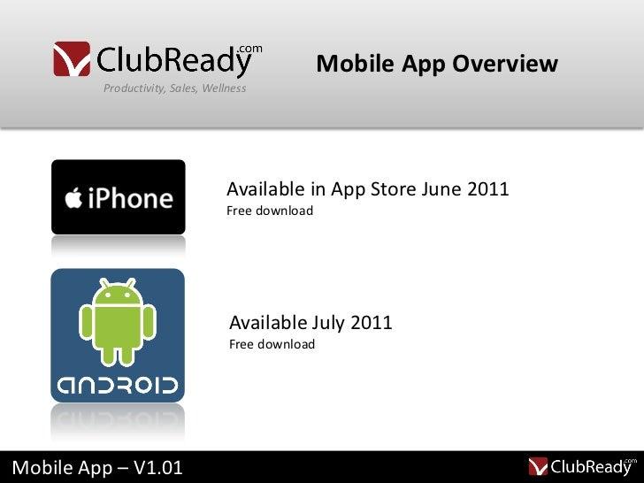 club mobile app