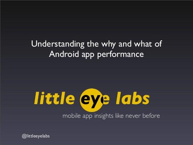App performance littleeyelabs
