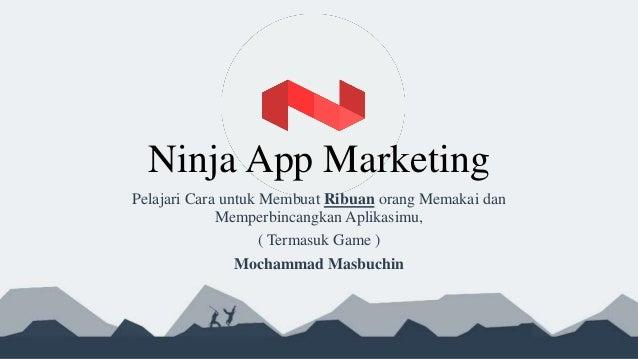 Game & App Marketing ( Bahasa )