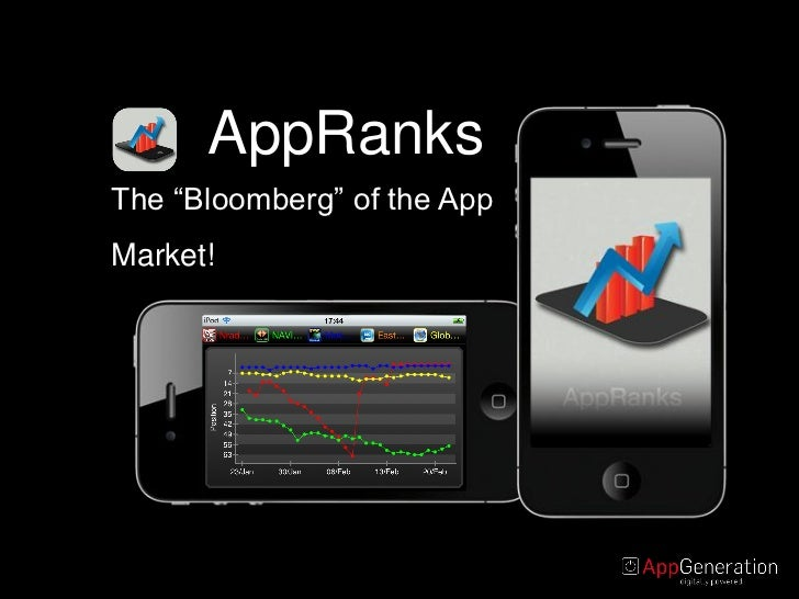 "AppRanksThe ""Bloomberg"" of the AppMarket!"