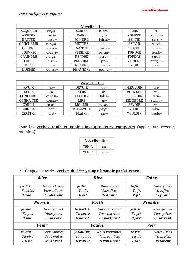 Apprendre conjugaison grammaire orthogrphe fran ais facilement for Coudre a imparfait