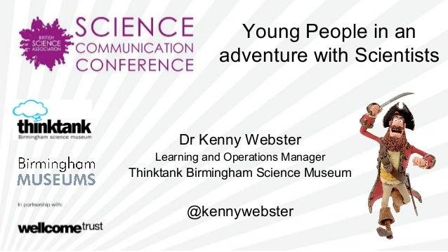 SCC2013 - Young (science) apprentice - Kenny Webster