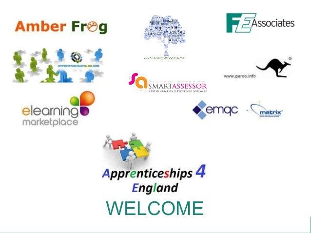 Apprenticeships 4 england funding conf presentation