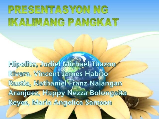Ang pagpapatayo ng kabahayan at iba pang imprastraktura pati na rin ang paglaki ng populasyon ang nagbunga ng pag-unti ng ...