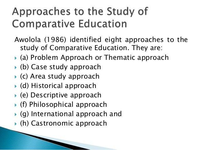 dynamic comparative case study method Research and development methods: comparative method that obstruct discovering those relationships that the researcher would want to study if such is the case.