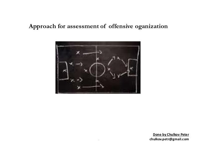 Approach for assesment of offensive oganization