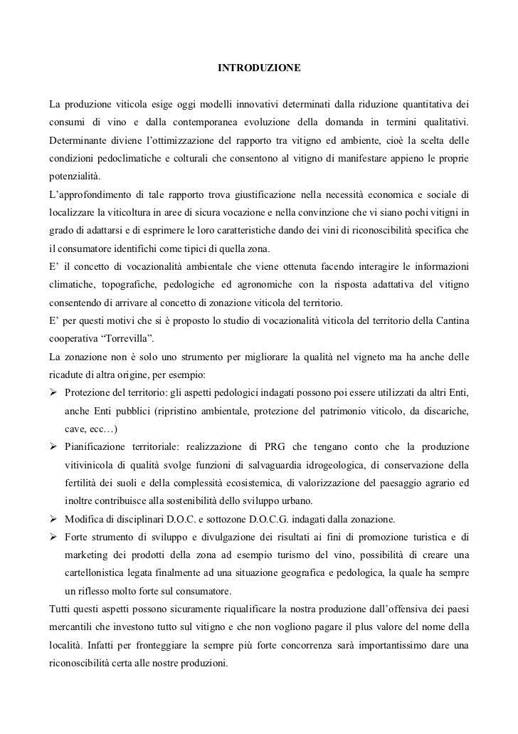 LA CONOSCENZA DEL TERRITORIO, STRUMENTO INDISPENSABILE PER UNA VITICOLTURA DI QUALITÁ: approfondimento