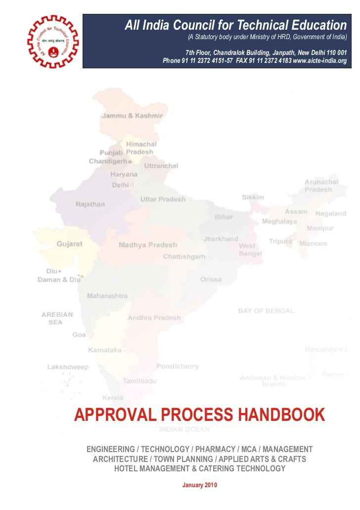 FOREWORDThe All India Council for Technical Education (AICTE), set-up in November 1945 as a national levelApex Advisory Bo...