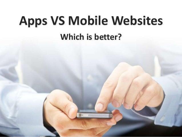 Apps vs Mobile Websites 2