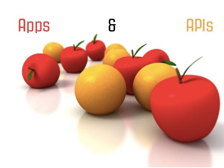 Apps   &   APIs