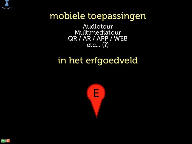 web, apps en erfgoed