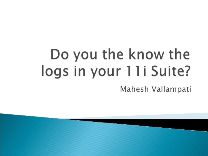 Mahesh Vallampati