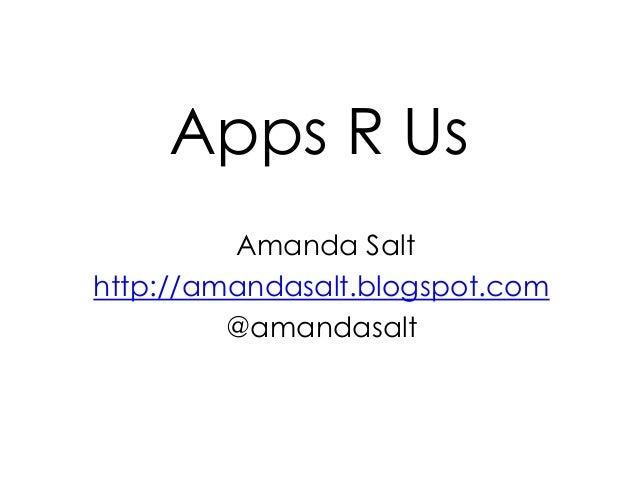 APPS R US
