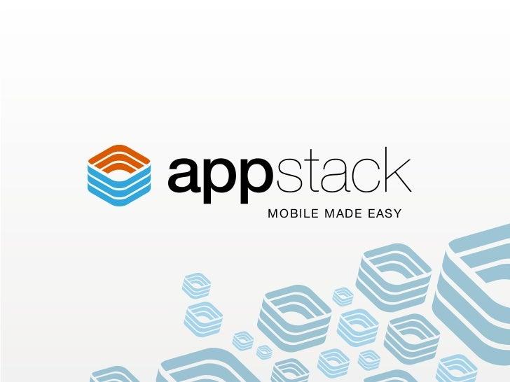 Appstack customer-presentation