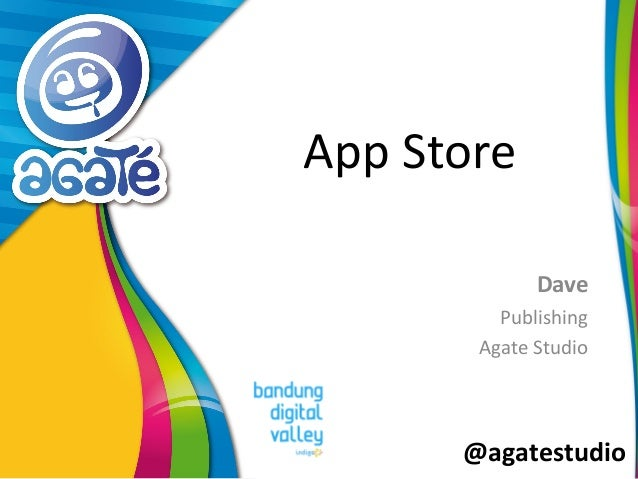 @agatestudio App Store Dave Publishing Agate Studio