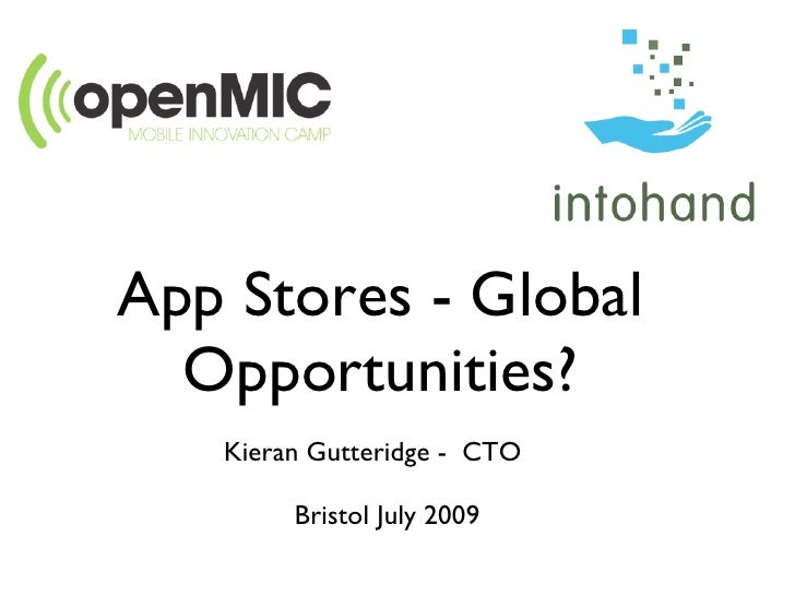 App Stores Global Opportunities
