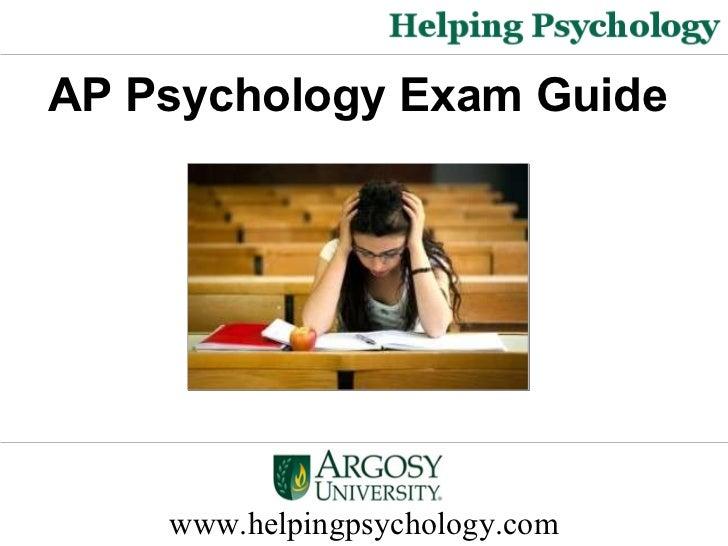 AP Psychology Exam Guide