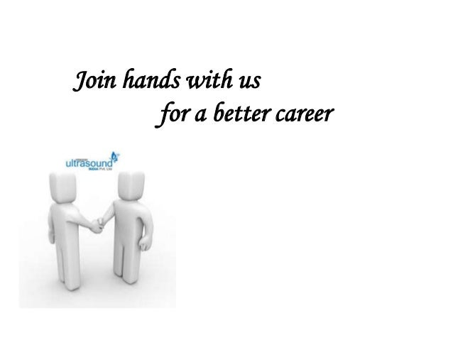 Join hands with us for a better career
