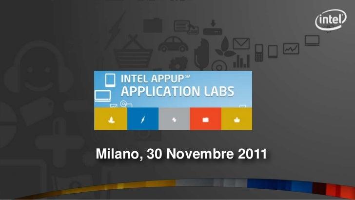 Milano, 30 Novembre 2011