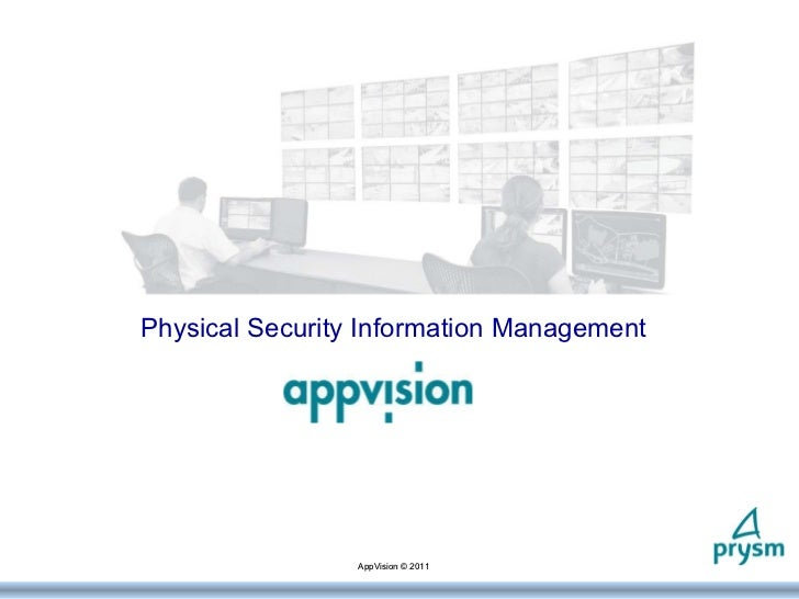 Appvision Presentation 2011