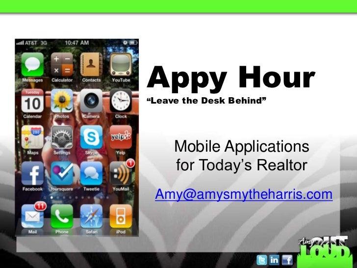 Appy hour abor april 2012