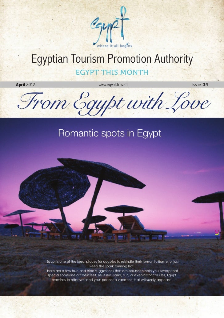 Egyptian Tourism Promotion Authority                               EGYPT THIS MONTHApril 2012                             ...