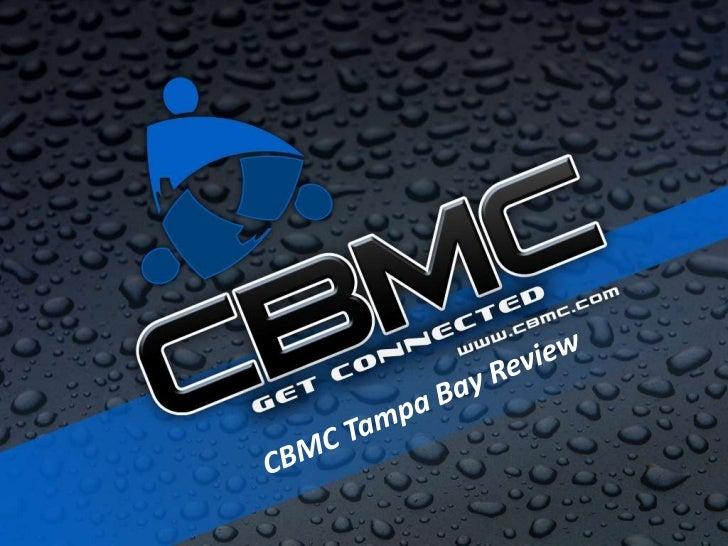 State of Tampa Bay CBMC April 2011