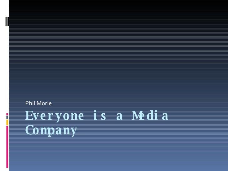 APRA: Everyone's a Media Company