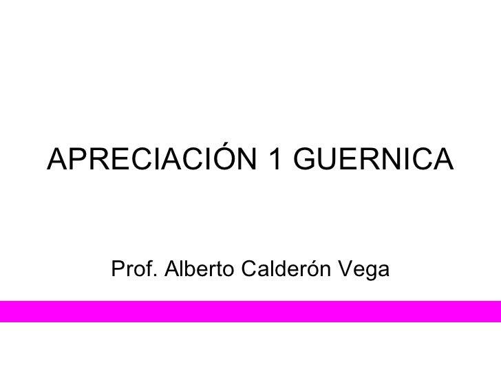 Apreciación 1 guernica