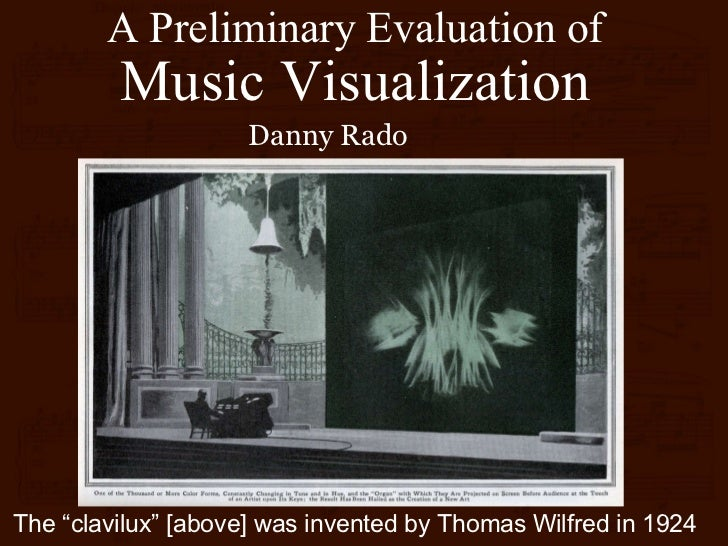A Preliminary Evaluation of Music Visualization