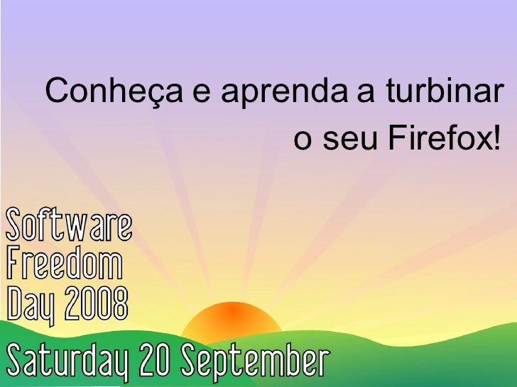 Aprenda e Turbine o Firefox