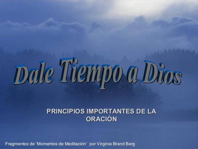♫ Enciende los parlantes                            HAZ CLIC PARA AVANZAR                   PRINCIPIOS IMPORTANTES DE LA  ...
