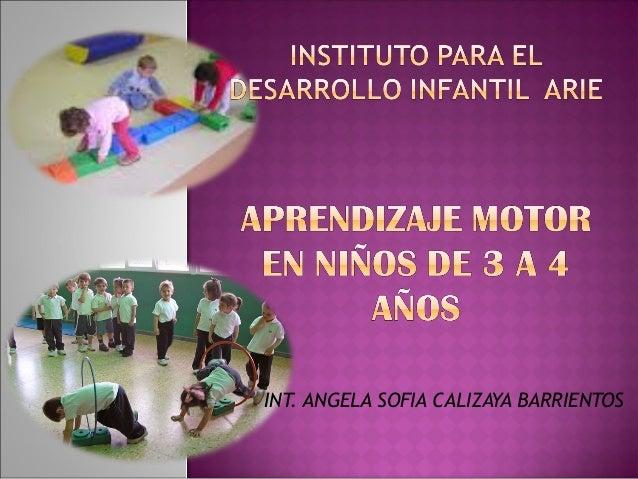 INT. ANGELA SOFIA CALIZAYA BARRIENTOS