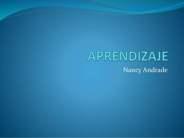 Nancy Andrade