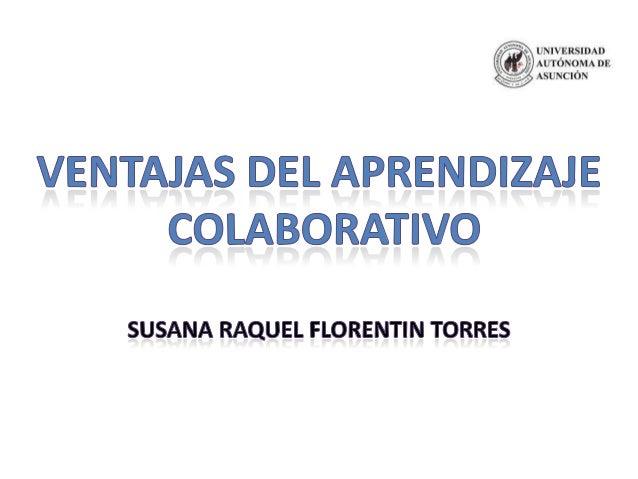 El aprendizaje colaborativo es unenfoque de enseñanza en el cual seprocura utilizar al máximoactividades en las cuales esn...