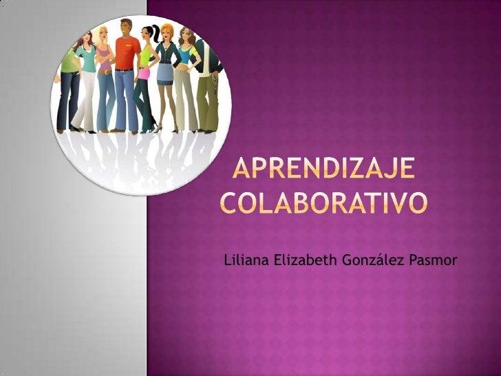 Liliana Elizabeth González Pasmor