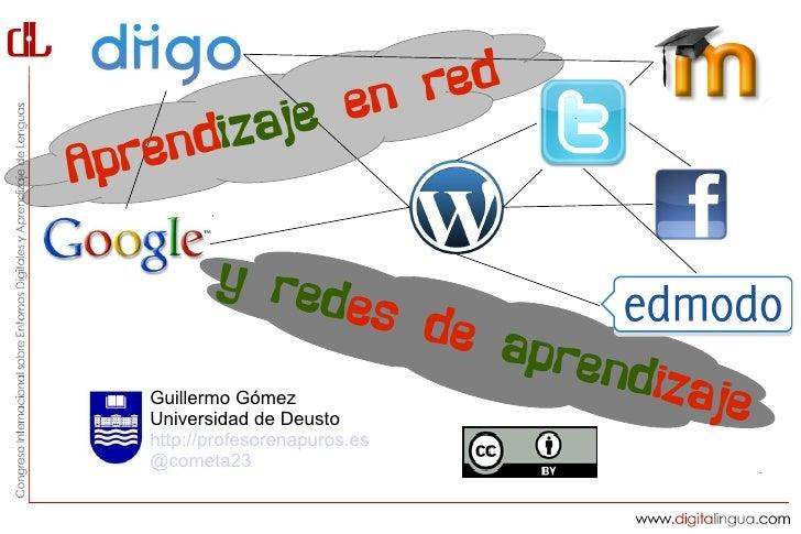 en red     ndiz ajeA pre          y red                es de                      apren   Guillermo Gómez                 ...