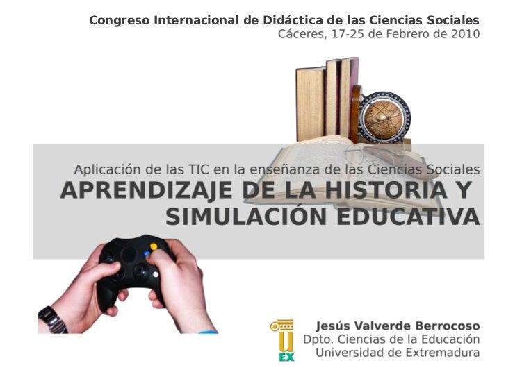 Congreso Internacional de Didáctica de las Ciencias Sociales