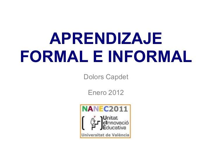Aprendizajeinformal