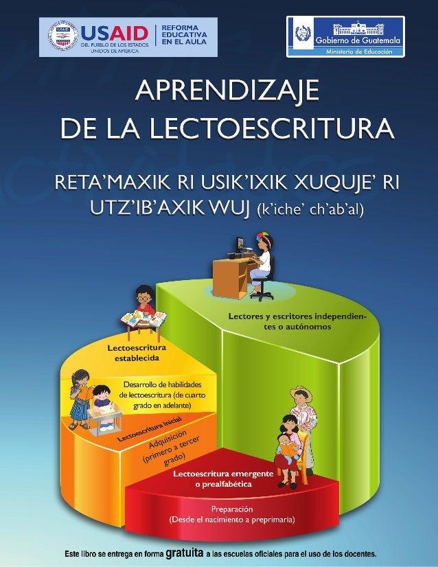 Aprendizaje lectura libro carátula azul