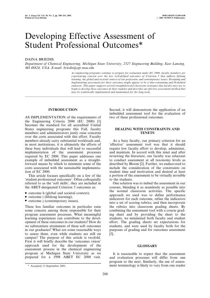 Int. J. Engng Ed. Vol. 18, No. 2, pp. 208±216, 2002                                                                       ...