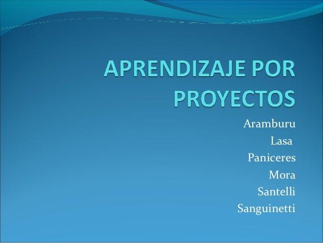Aramburu      Lasa  Paniceres      Mora    SantelliSanguinetti