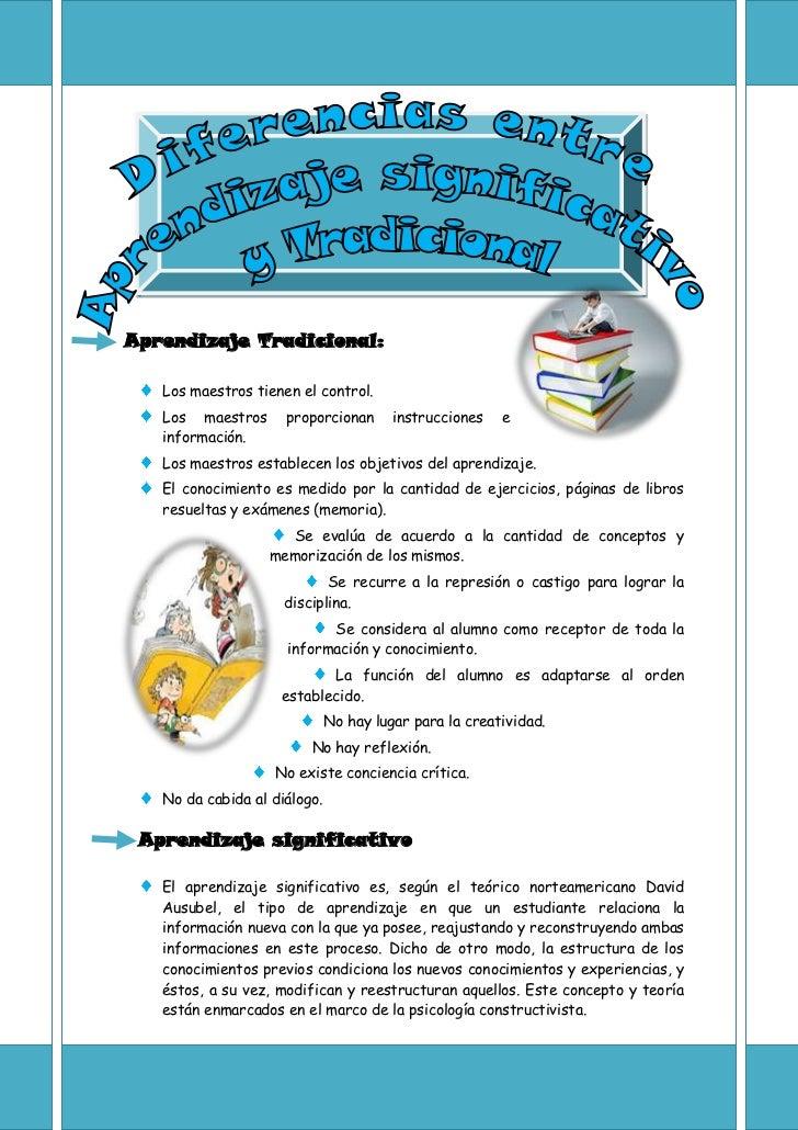 Aprendizaje Tradicional:   Los maestros tienen el control.   Los maestros      proporcionan       instrucciones   e   info...