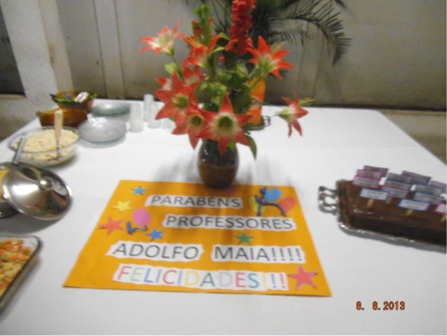 Planejamento 2 semestre dos professores Adolfo Maia