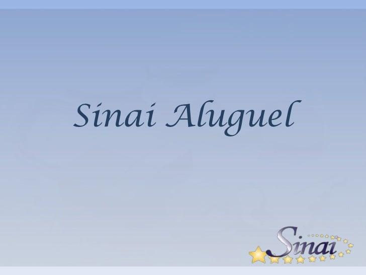 Sinai Aluguel<br />